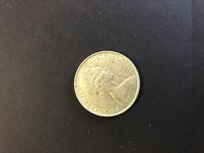 Australian 1966 Round $0.50 Cent Coin. Good Condition