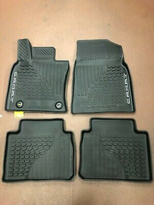 Toyota Camry 2018-2019 4Pcs Black  All Weather Floor Liners Pt908-03180-20