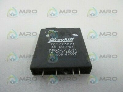 LOT OF 2 GRAYHILL 70L-OAC AC OUTPUT I//O MODULE