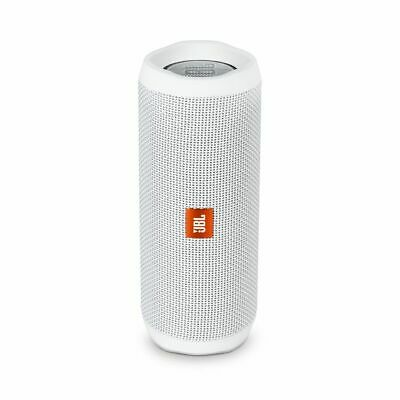 JBL Flip 4 Waterproof Bluetooth Speaker (White). Authorized Dealer!