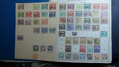 Czechoslovakia Stamp collection on Minkus album pages w/ 2,100 or so to '91