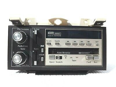 1989-1993 Cadillac Fleetwood Deville Bose Gold series stereo radio tape player