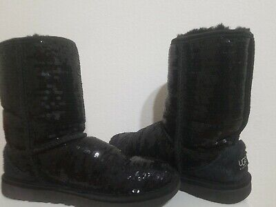 ea599b18ea8 AUTHENTIC UGGS CLASSIC Short Sequins #3161 sparkle green Boots ...