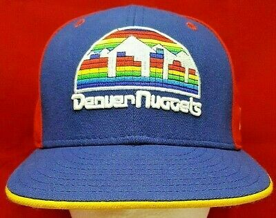 5371fd3850b NEW ERA DENVER Nuggets Fitted Hat - Throwback Miner Logo -  22.95 ...