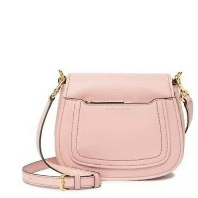 ebe92ce784c4 NWT  325 Marc Jacobs Empire City Mini Messenger Leather Crossbody Bag Rose  Pink