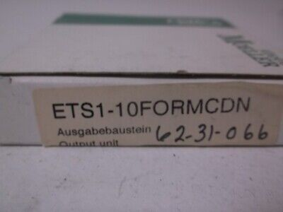 Klockner-Moeller Ets1-10Formcdn Output Unit * New In Box *