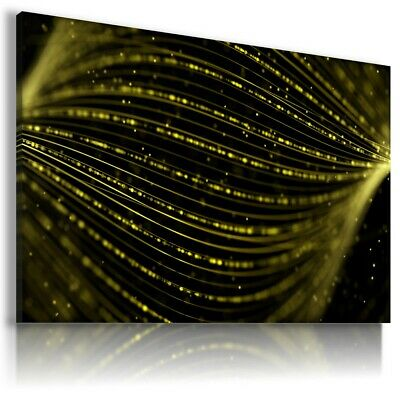 WAVES 3D WALL Abstract Modern Design Canvas Wall Art Picture AB919 X MATAGA