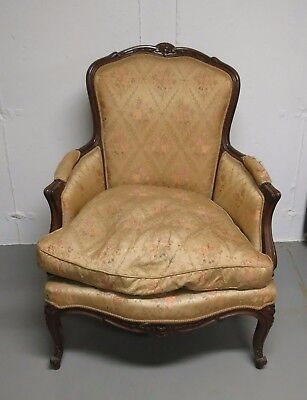 Vintage French Style Carved Chair