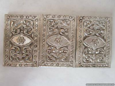 Early Ottoman Empire, rare silver belt applications, total weight 46.12 g, RRR!!