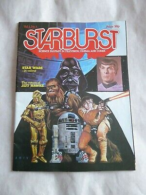 MAGAZINE - Starburst Issue Vol 1 No #1 Date January 1978 Star Wars Special Cover