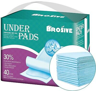 Disposable Incontinence Bed Pads,Leak-Proof Breathable Disposable Underpa... New