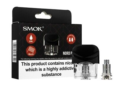 SMOK Nord Replacement Pod 2ml for SMOK Nord AIO Kit Genuine Authentic UK Seller