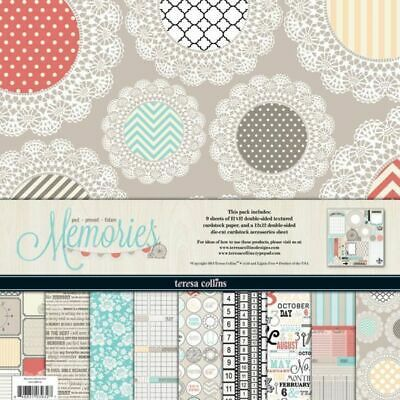 "Scrapbooking paper kit - 12 ""x 12"" - 10 double-sided sheets - Memories 
