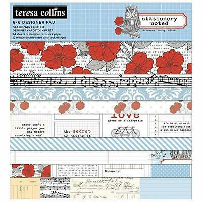 "Paper pad for scrapbooking 6 ""x 6"" - Stationary Noted 