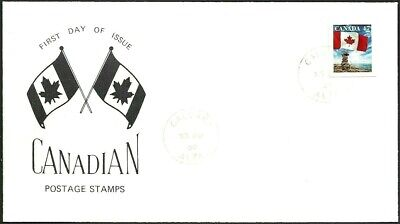 Canada   # 1700    Flag Over Inukshuk Special Event Cover   New 2000 Unaddressed