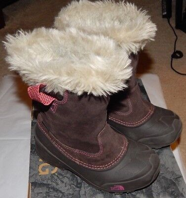 1909c13c8 NORTH FACE KIDS Amore II Snow Boots Girls Size 13 - $25.00 | PicClick