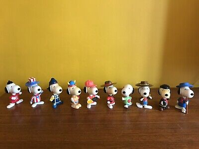 Mcdonalds  Snoopy  World  Tour  Happy  Meal  Toy Vintage Nineties 90s Toys