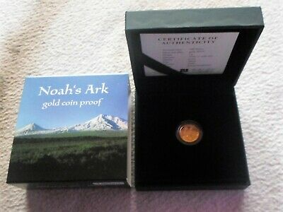 Armenien 100 Dram - Arche Noah  - 1 Gramm 999 Gold in Box
