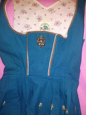 Vtg 60's70's Dirndl Size 40? Dress Golimbeck German Oktoberfest Waitress