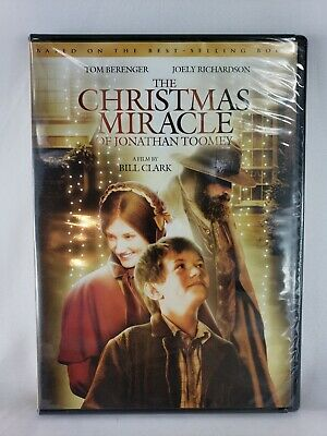 The Christmas Miracle Of Jonathan Toomey.The Christmas Miracle Of Jonathan Toomey Dvd 2007 Brand