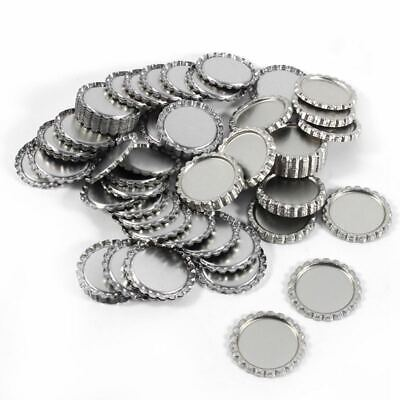 1X(1 Inch Bottle Caps For Crafts Wall Decor Flattened Bottle Cap Without HoK3B8)