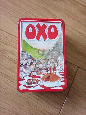 🔴Vintage *OXO TIN* Empty 1992 Designed By Martin Sanders 🔴