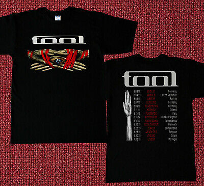 NEW TOOL Band - Tour 2019 T-shirt Concert Size S to 3XL