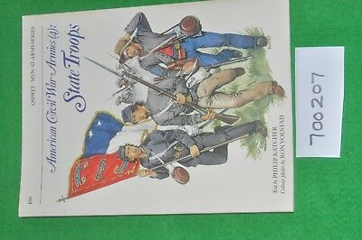 osprey men-at-arms 190 - american civil war armies (4) state troops - (700207)