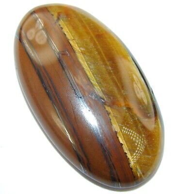 Natural Secret golden  tigers's eye 45.5ct loose stone from SilverRush Style