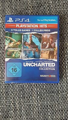 Uncharted collection - Uncharted 1 + 2 + 3 für PS4 THE NATHAN DRAKE COLLECTION