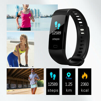 Smart Watch Bracelet Wristband Real-time Heart Rate Sleeping Monitor Steps Count
