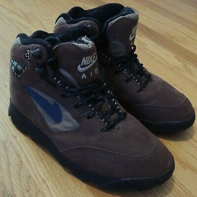 bb8108972f9 VINTAGE NIKE CALDERA Hiking Boots Shoes Made In Korea Women's 7 Tan ...