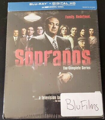 The Sopranos Hbo The Complete Series Blu-Ray 28 Discs Box Set ✔☆Mint☆✔No Digital