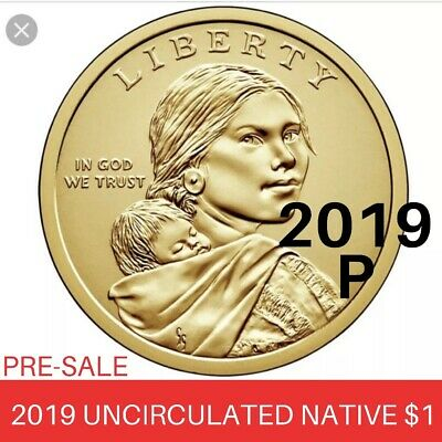 2019 P Sacagawea Native American Uncirculated Dollar Space Program