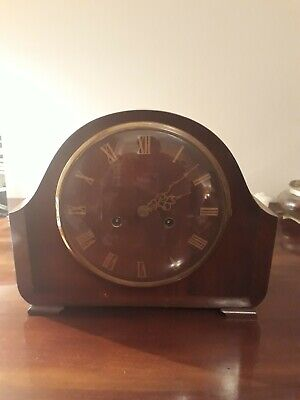Vintage Smiths Enfield Langley Striking Mantel Clock