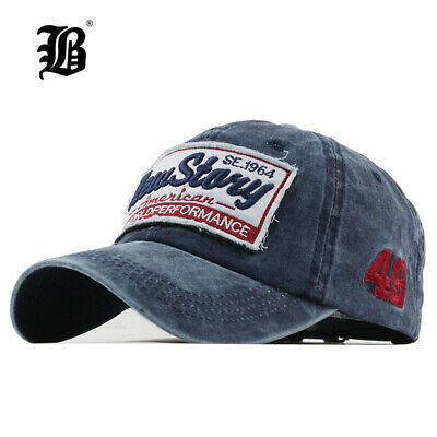 FLB® Cap Fashion BaseballCap Embroidery Snapback Hat For Men Women Cotton Casual