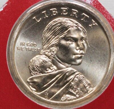 2015 P D SACAGAWEA Native American Dollar 2 Coin Set from U.S. Mint Set