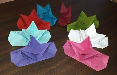 12 Star Folded 3 Ply Napkins Dinner Party Wedding Anniversary Table Decorations