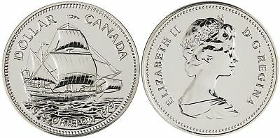 Canada Silver Coin 1979 Griffon Commercial Ship First Voyage on Great Lakes. UNC