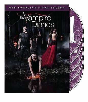 New Sealed The Vampire Diaries - The Complete Fifth Season DVD 5