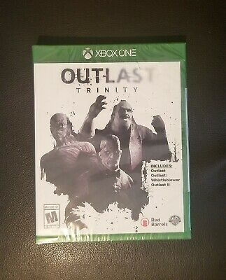 XBOX ONE Outlast Trinity Game NEW Outlast I, II and Whistleblower Free Shipping