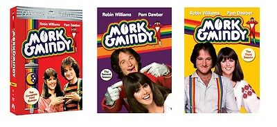 New Sealed Mork & Mindy - The Complete First Second Third Seasons 1 2 3 DVD 1-3