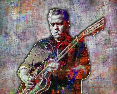 JASON ISBELL 16x20inch Poster Jason Isbell Artwork Country Pop  Free Shipping