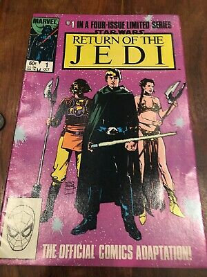 STAR WARS...RETURN OF THE JEDI #1 Limited Series Comic