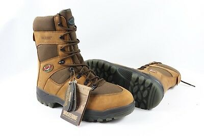70a28b712e4 WOLVERINE THINSULATE HUNTING Boots Size 10.5 Camo Mossy Oak ...