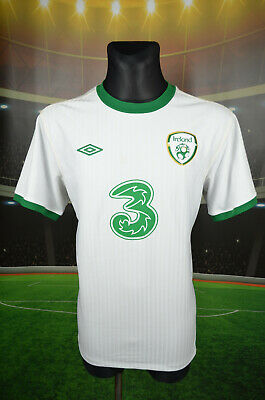 "Ireland Eire Umbro Away Football Shirt (44"") Jersey Top Trikot Camiseta Mens"