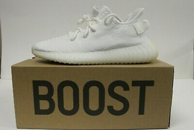 1789563fd1833 Adidas Yeezy Boost 350 V2 Cream Triple White US Size 9 - CP9366 - New