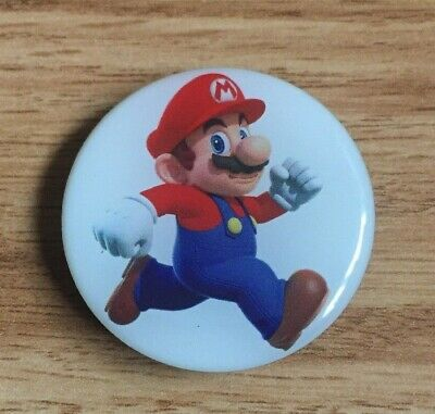 RARE Magnetic Nintendo Super Mario Collector Pin Switch Smash Brothers Apple