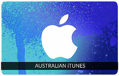 iTunes Gift Card $20 AUSTRALIAN Apple | App Store Code Key AUSTRALIA | iPhone..