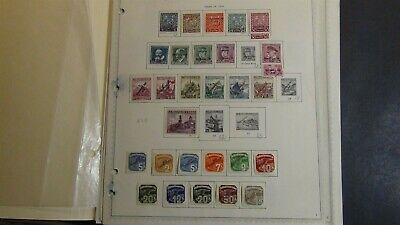 Slovakia Slovensko classics Stamp collection on pages w/ 309 or so stamps